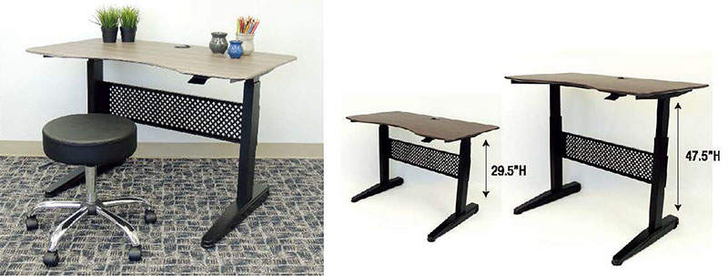 Norco XL Height Adjustable Office Tables