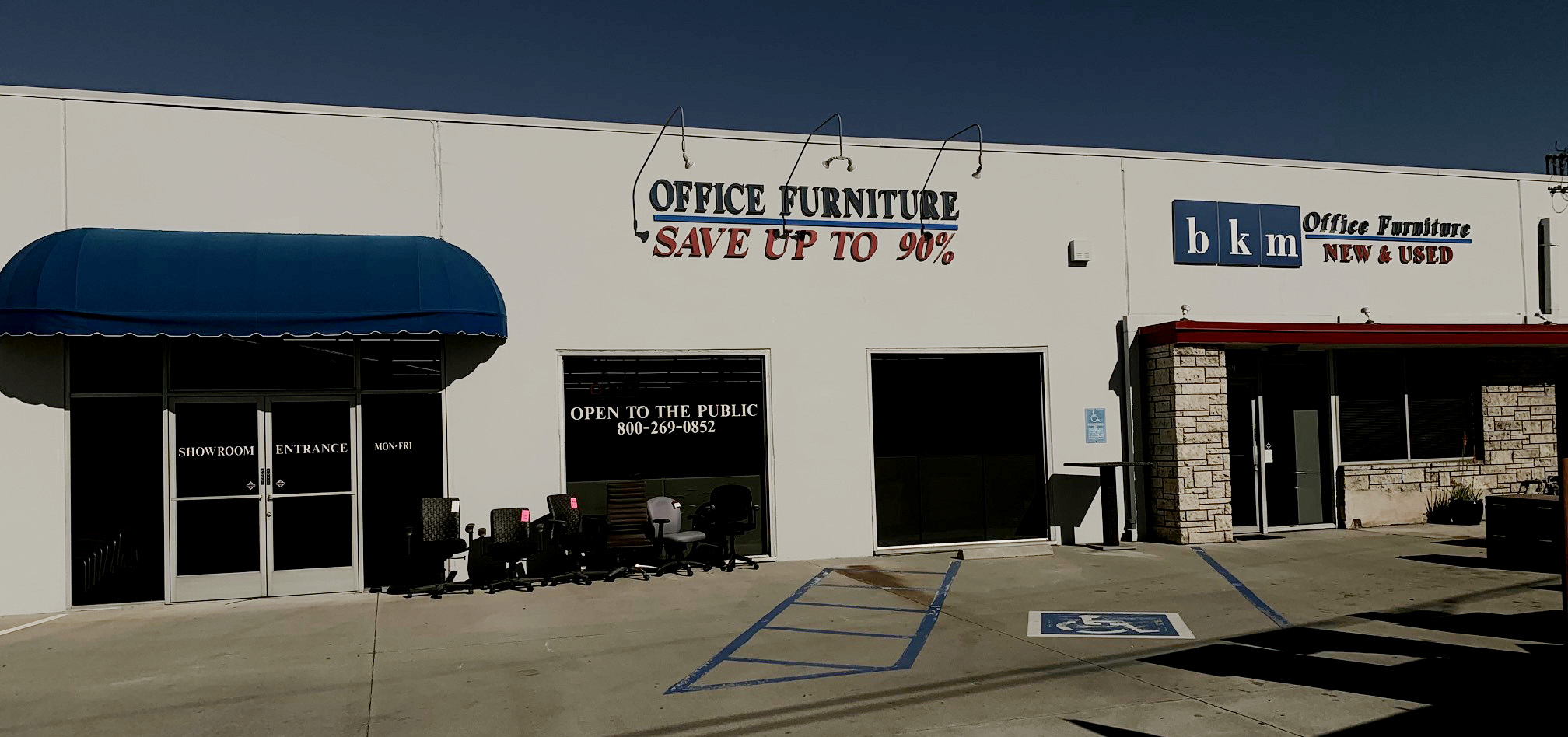 BKM Office - LA's oldest and largest new and used office furniture store