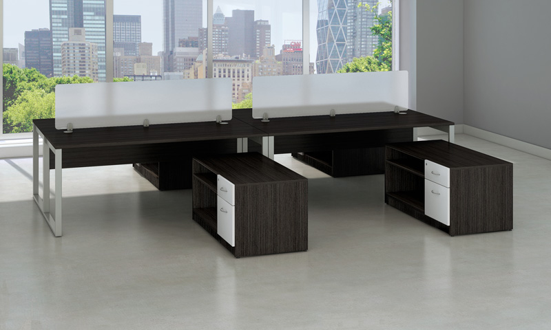 Monterey XL Budget Desks - photo 1 - Exclusively available for quick ship in Los Angeles