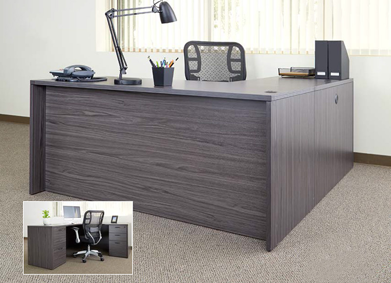 Office Star Napa Collection - L-Shaped Desk