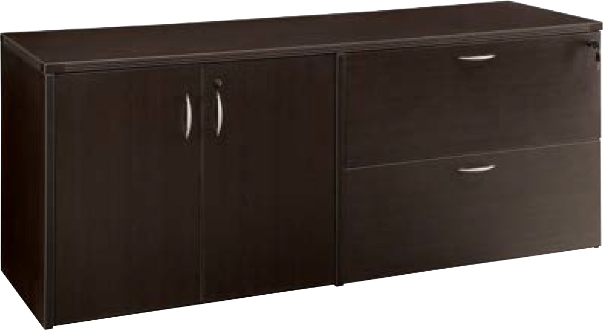 Office Star Napa Collection - U-Shaped StepFront Desk