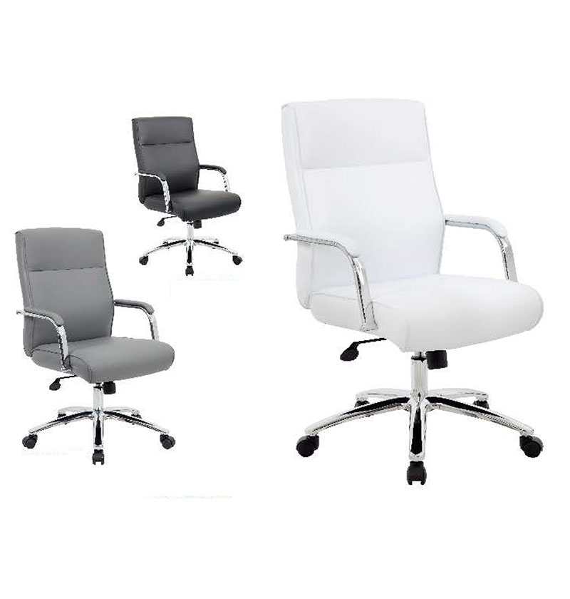 5696C-WT & 5696C-BK / 5696C-GY Executive Caressoft Chairs