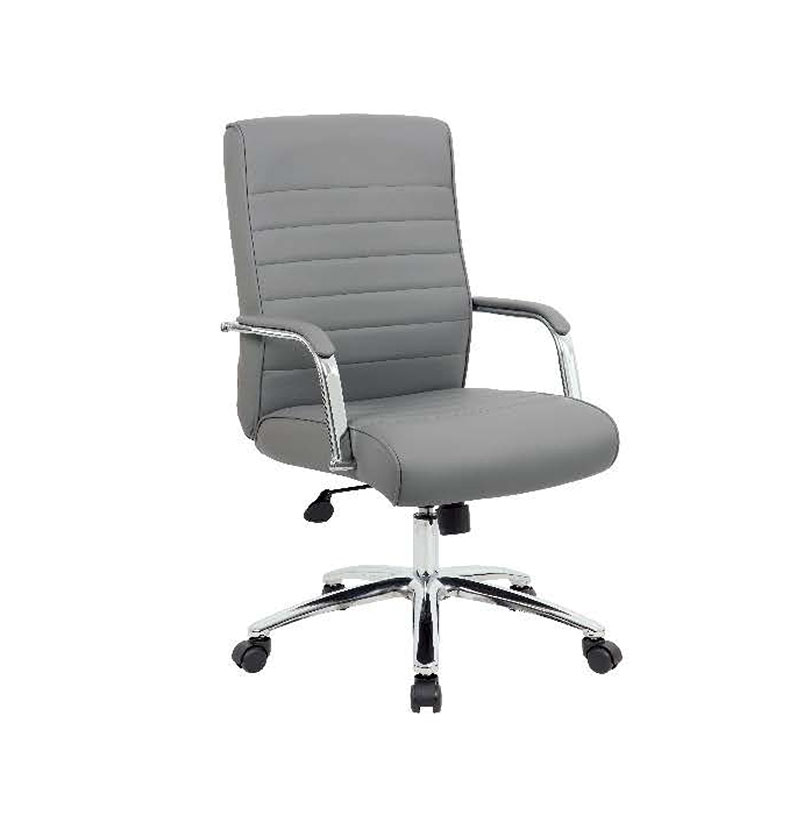 5696CRB-GY Executive Caressoft Ribbed Chairs