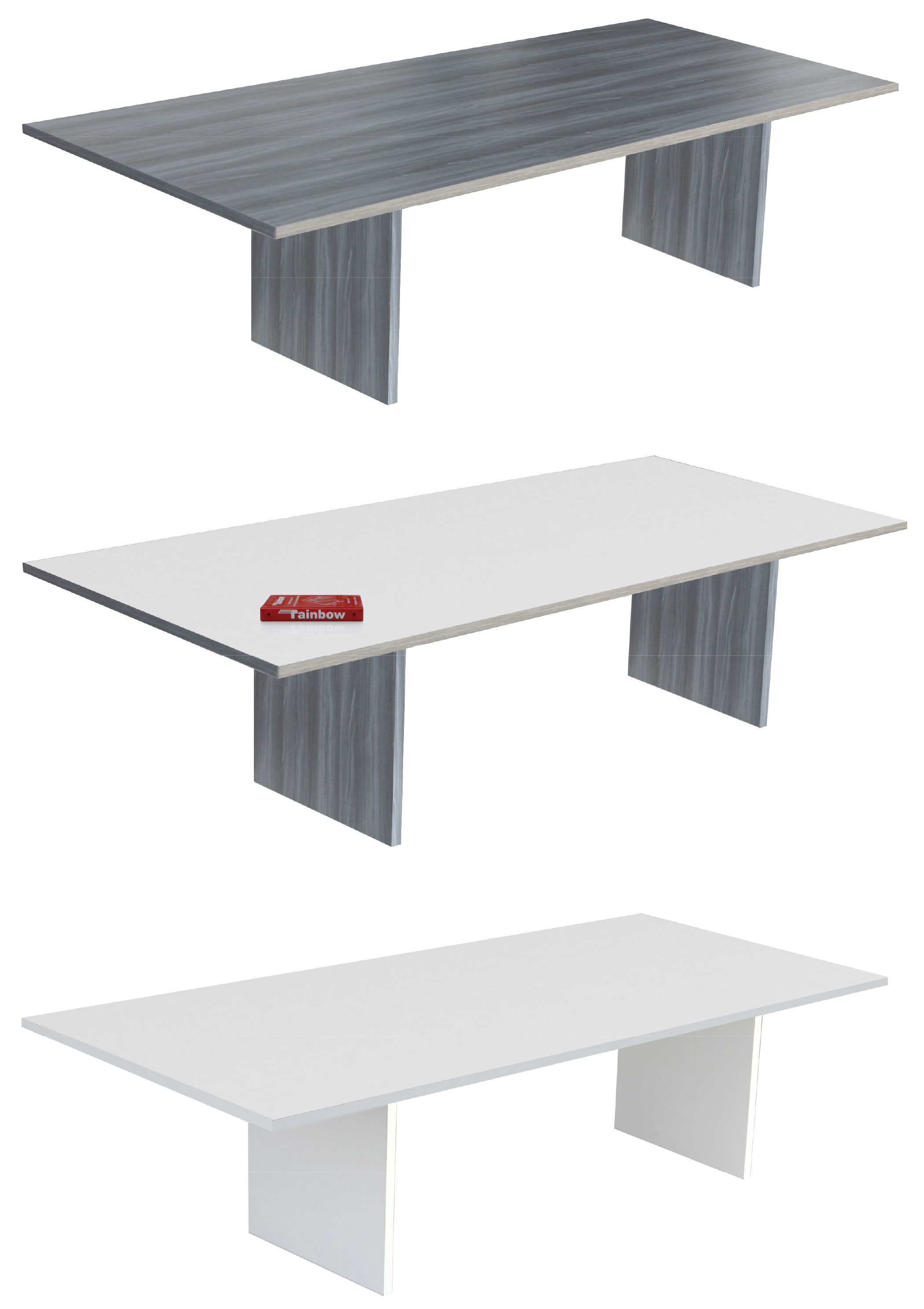 ARKO BKM Series conference tables - 3 surface options