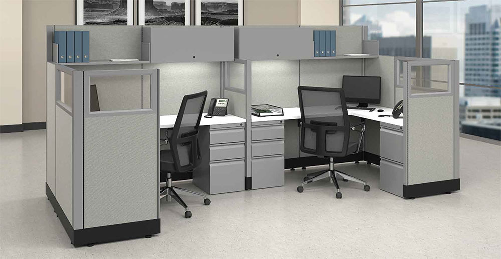 Cheap and quick office panels and dividers