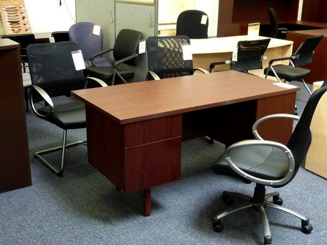 Blowout special on cheap and quick office desks