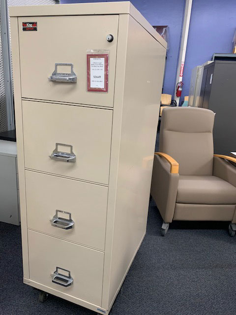 Fireking 3-drawer lateral file - gently used - photo 1