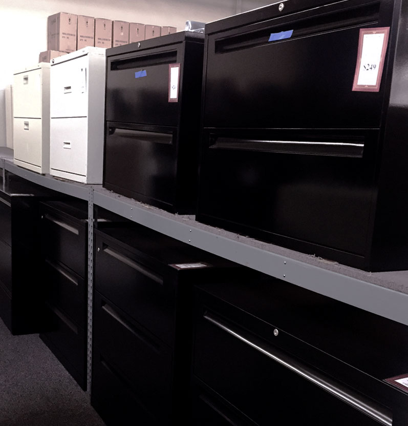 new and used office file cabinets