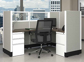 new and used office panels
