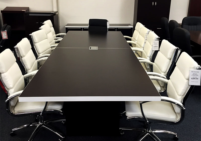 Huge 15,00 square foot showroom - new and used office furniture