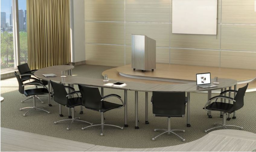 Los Angeles Conference Tables & Training Desks - Model# CT05