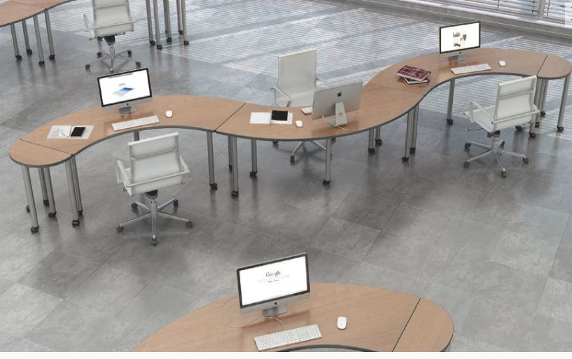 Los Angeles Conference Tables & Training Desks - Model# CT07