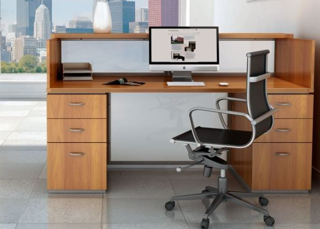 Los Angeles Reception Area Office Furniture - Model# RA01