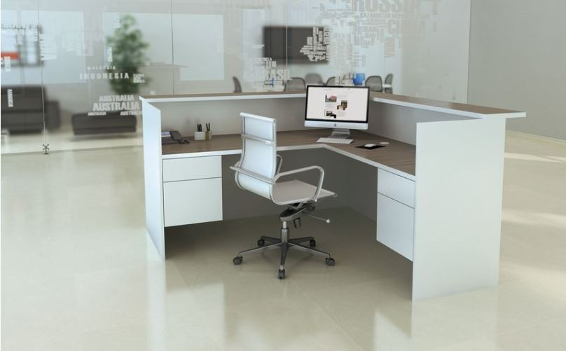 Los Angeles Reception Area Office Furniture - Model# RA02