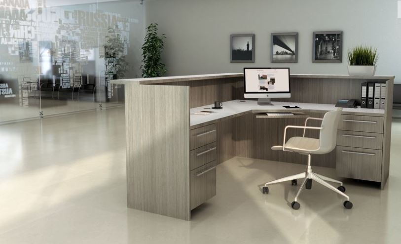 Los Angeles Reception Area Office Furniture - Model# RA03